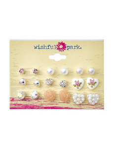 Wishful Park Multi Studs Earrings Fashion Jewelry