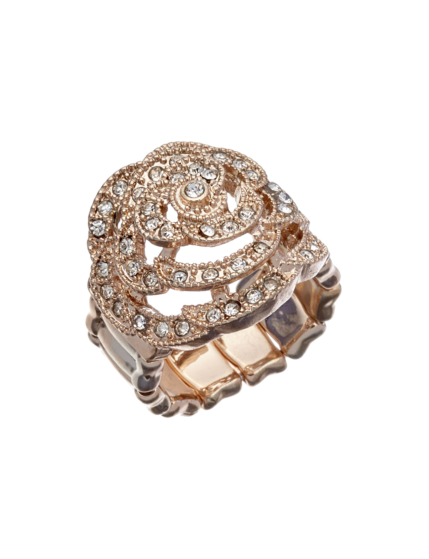 Hannah White Rings Fashion Jewelry