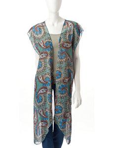 Basha Blue Kimonos