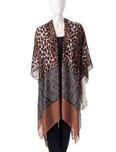 Basha Brown Kimonos