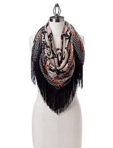 Basha Orange Scarves & Wraps