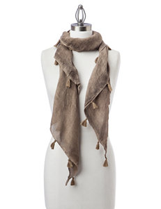 Basha Brown Scarves & Wraps