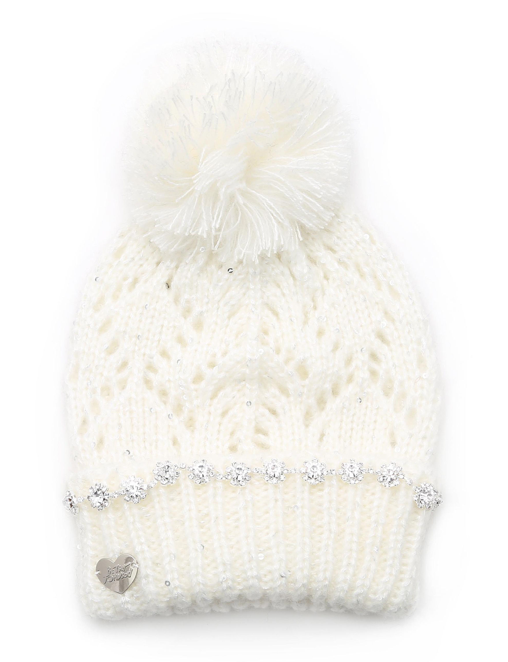 Betsey Johnson Ivory Hats & Headwear