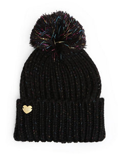 Betsey Johnson Black Hats & Headwear