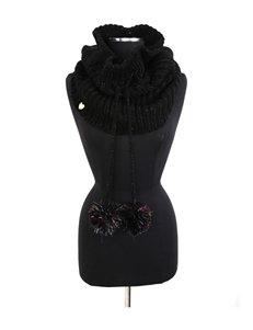 Betsey Johnson Black Scarves & Wraps