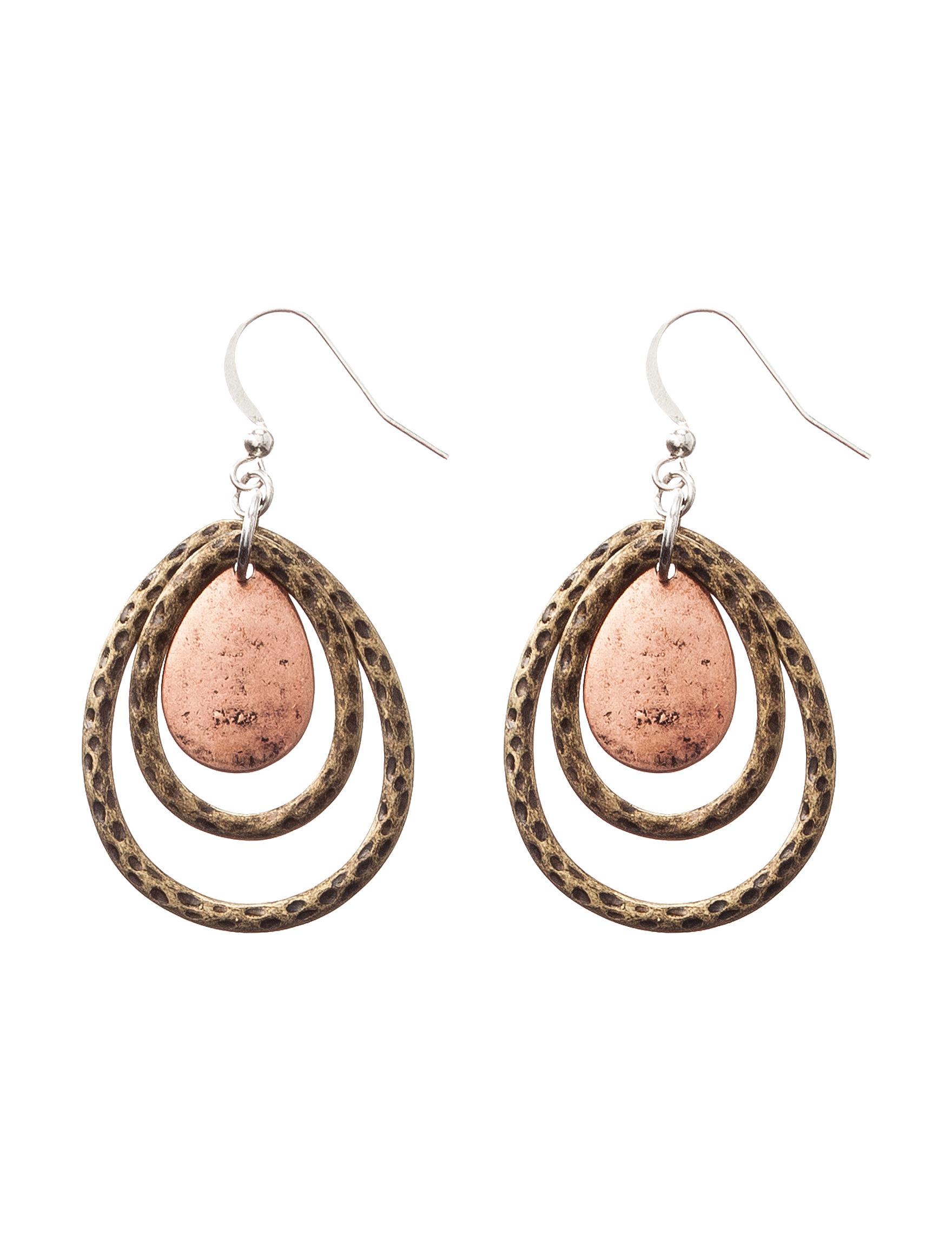 Hannah Brown Drops Earrings Fashion Jewelry