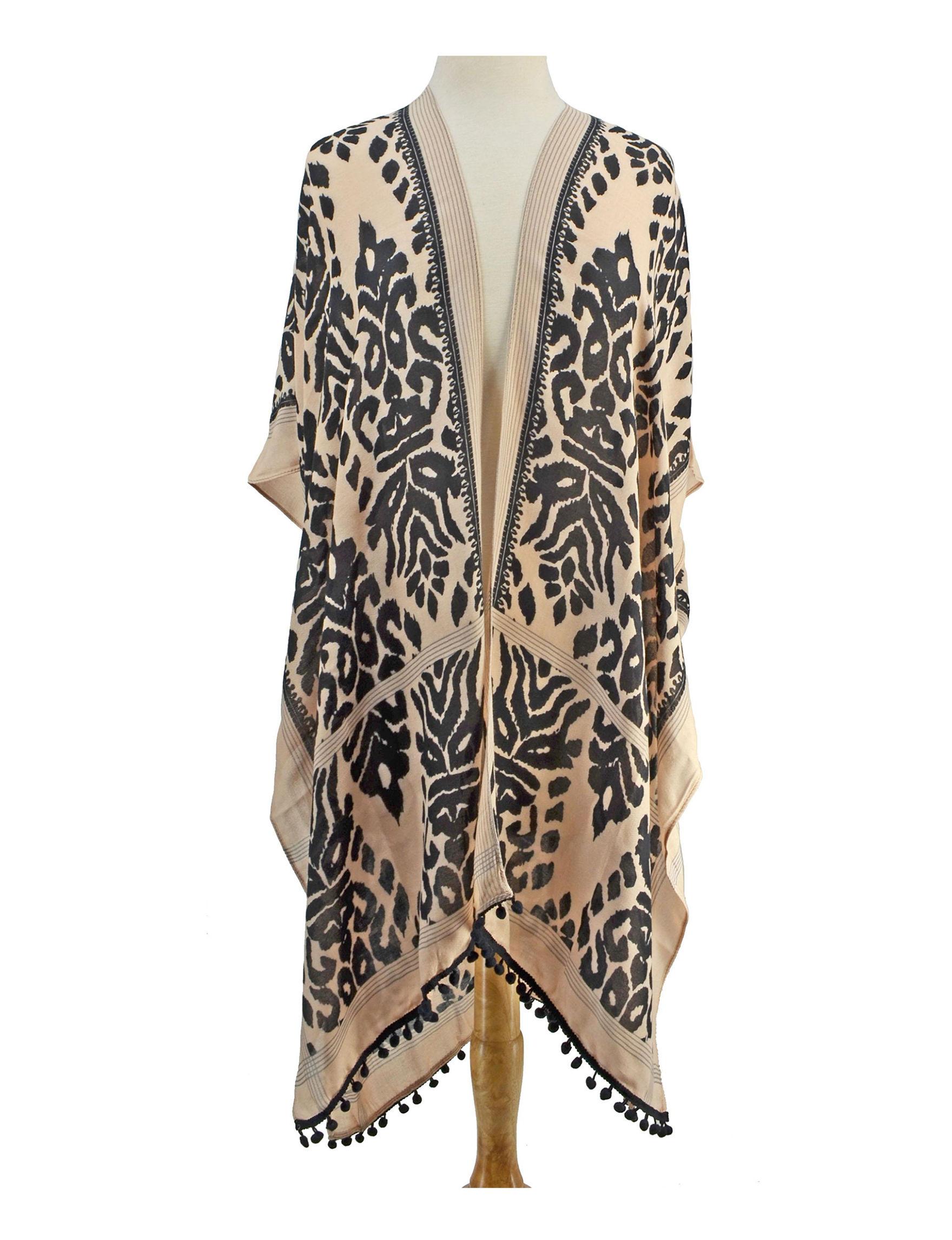 Rafaella Brown Scarves & Wraps