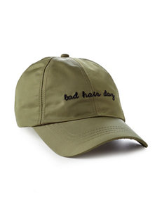 David & Young Olive Hats & Headwear
