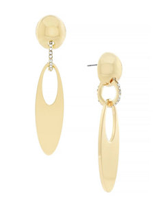 Jessica Simpson Gold Earrings Fashion Jewelry