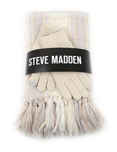 Steve Madden Ivory Scarves & Wraps