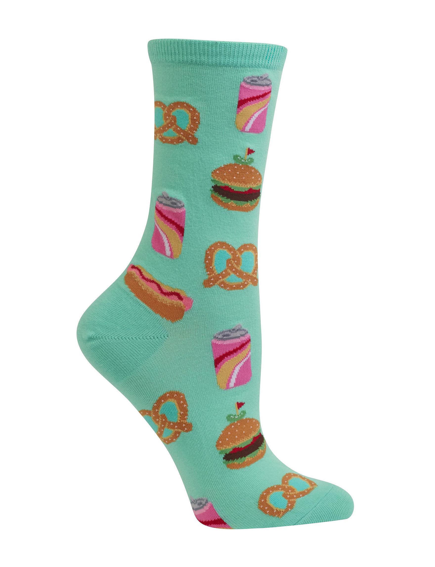 Hot Sox Mint Socks