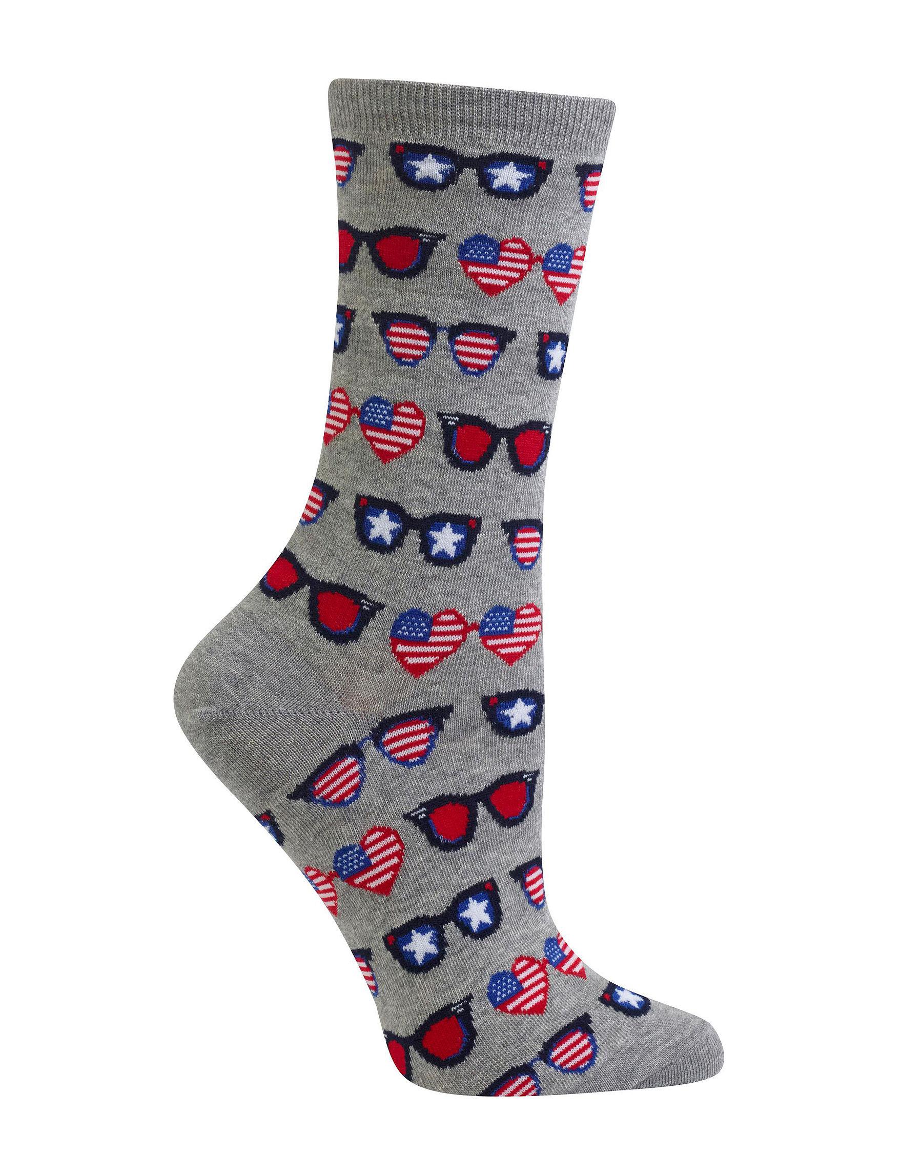 Hot Sox Grey Socks