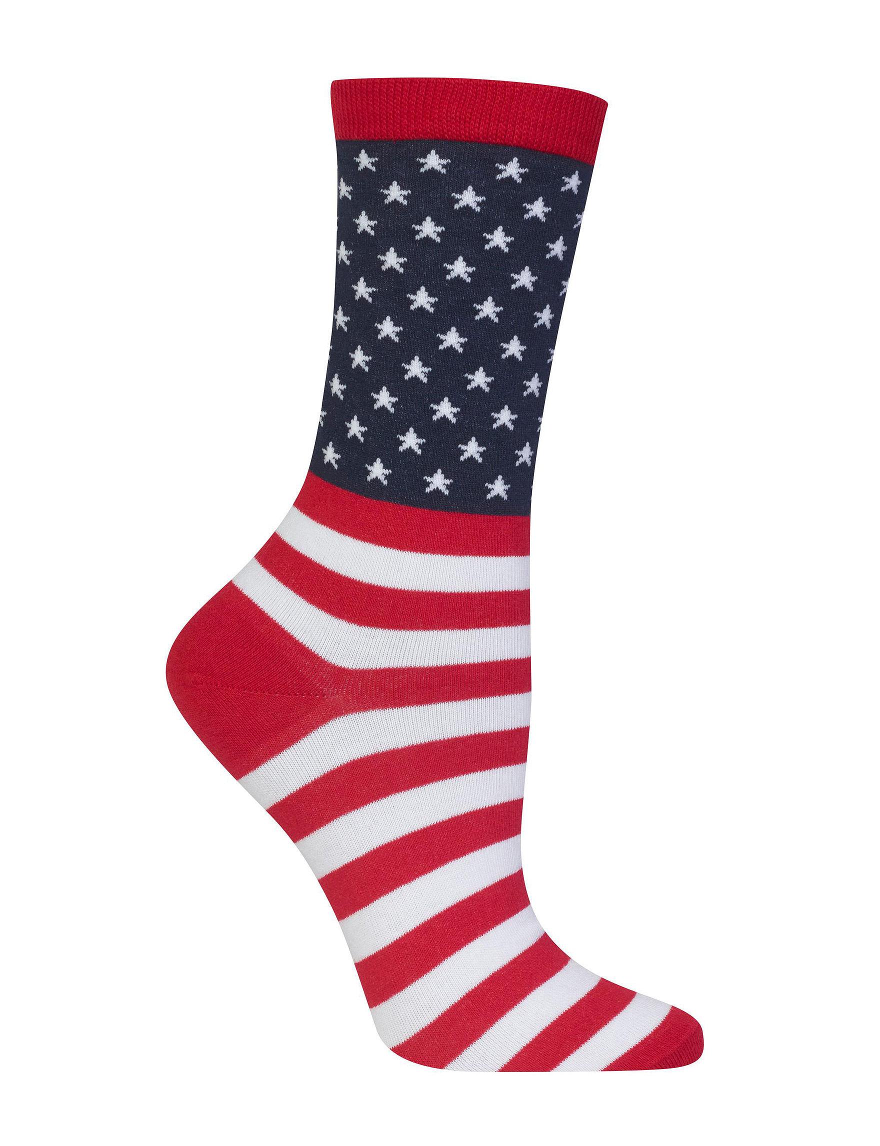 Hot Sox Red Socks