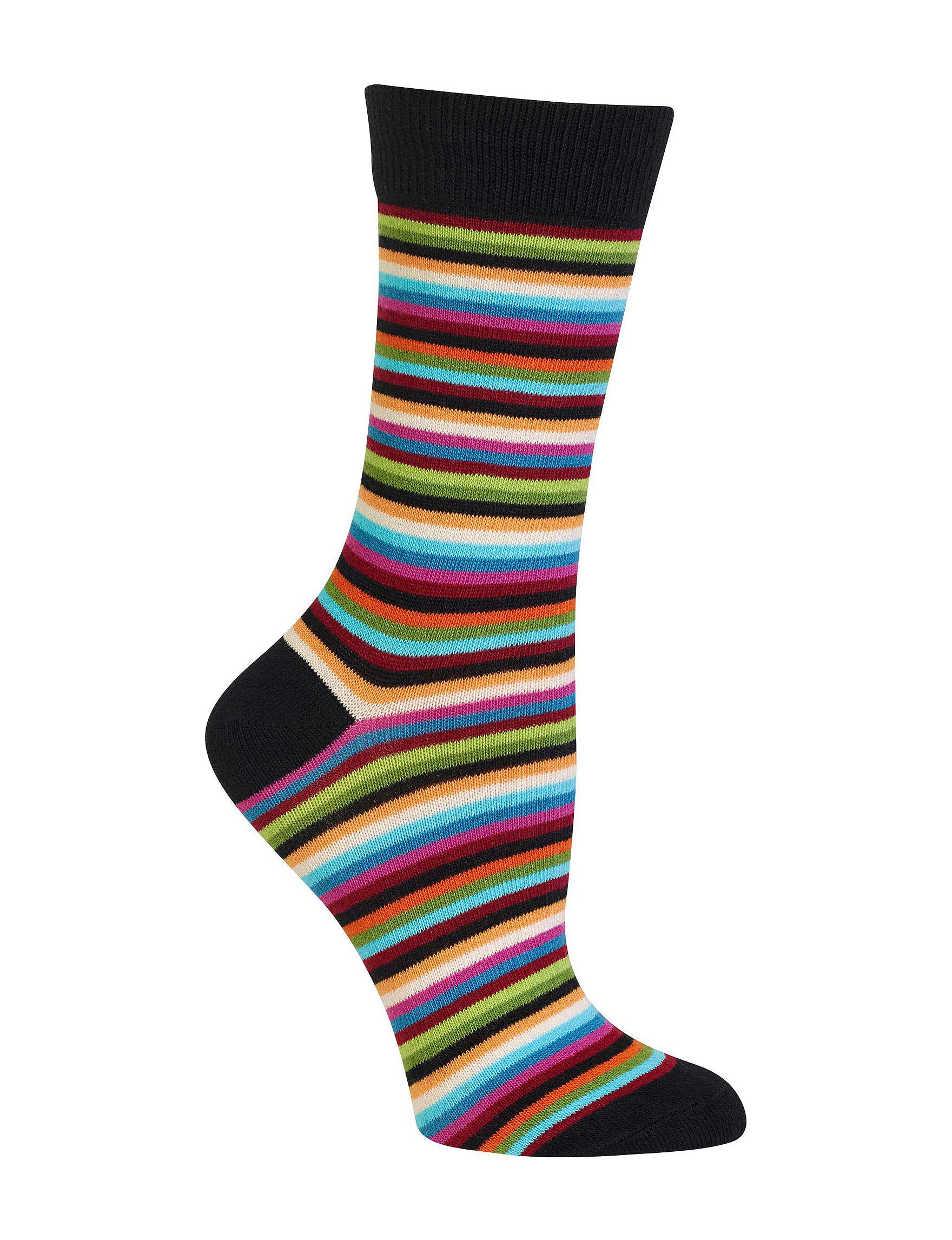 Hot Sox Black Socks