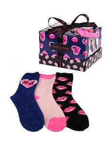 Betsey Johnson Blue Socks