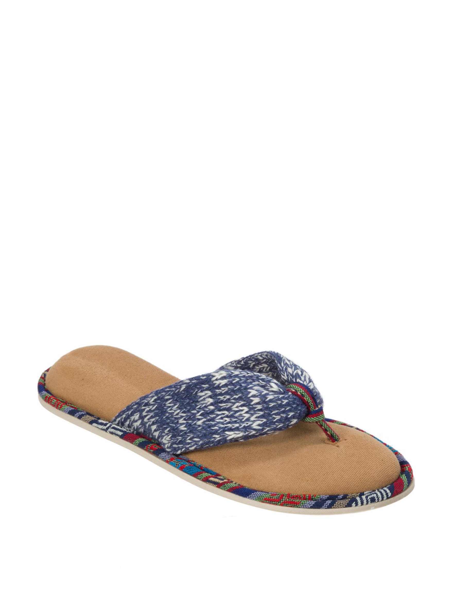 Dearfoam Indigo Slipper Sandals