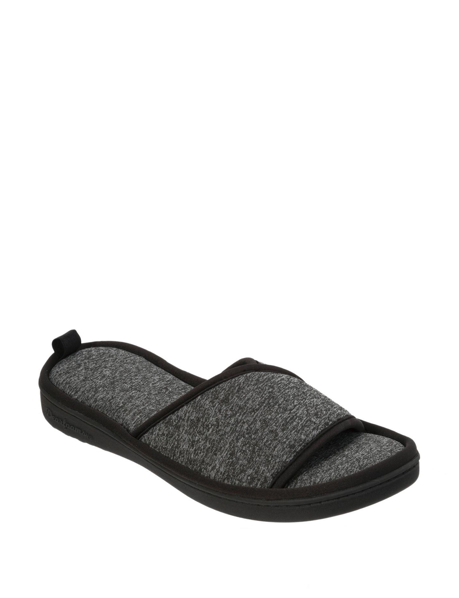 Dearfoam Black Slipper Shoes