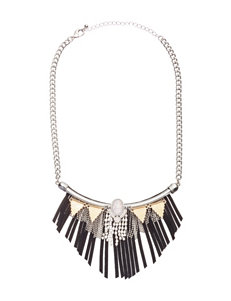 Hannah Black Necklaces & Pendants Fashion Jewelry