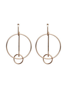 Hannah Gold Hoops Earrings Fashion Jewelry