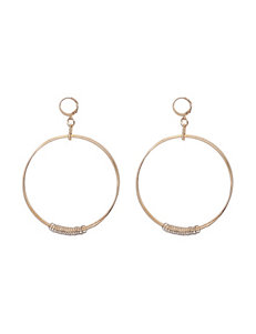 Hannah Two Tone Earrings Fashion Jewelry
