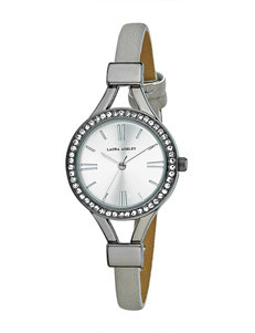 Laura Ashley Gunmetal Fashion Watches