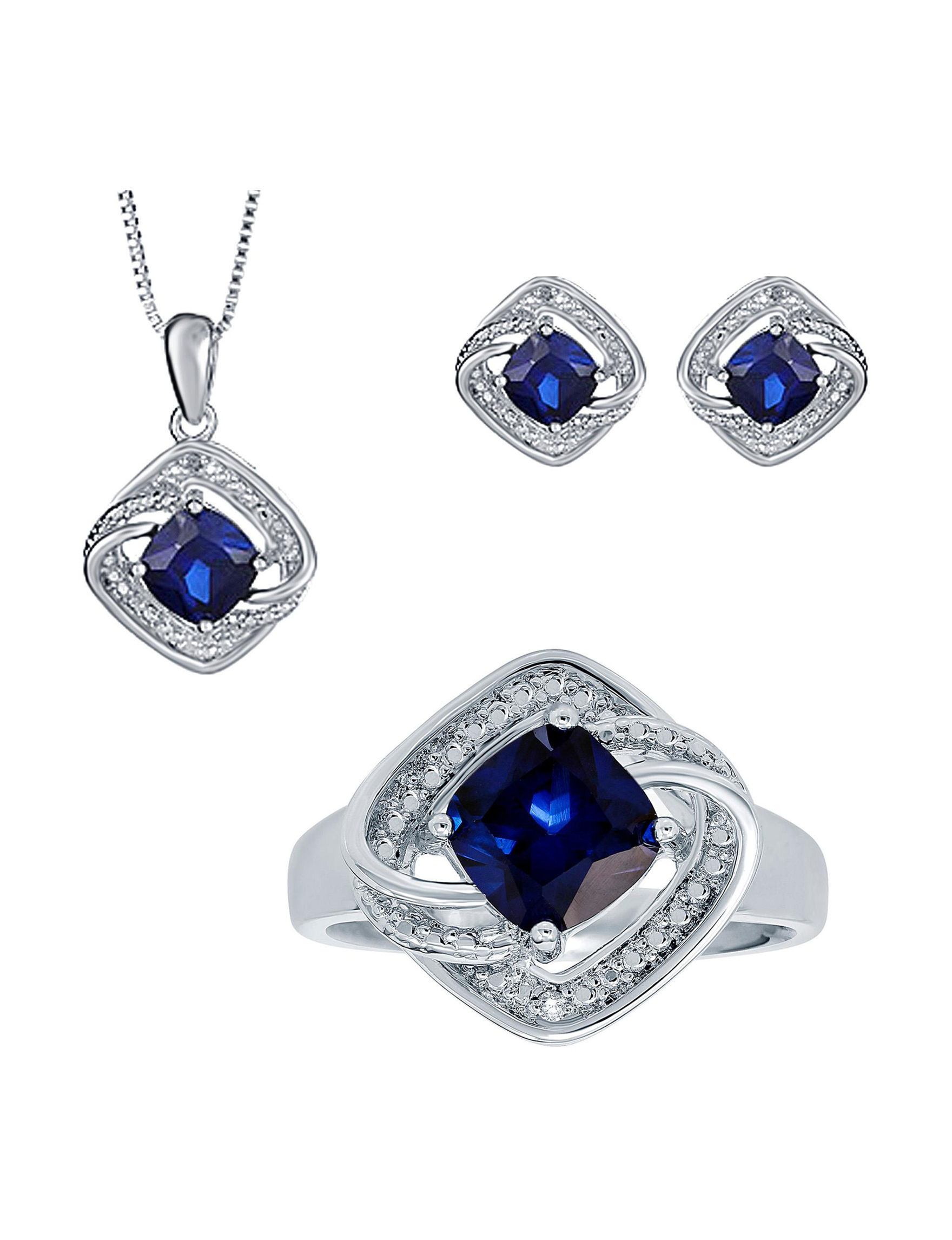 Silver Jewelry Sets Fine Jewelry