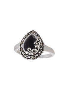 Marsala Black Rings Fine Jewelry