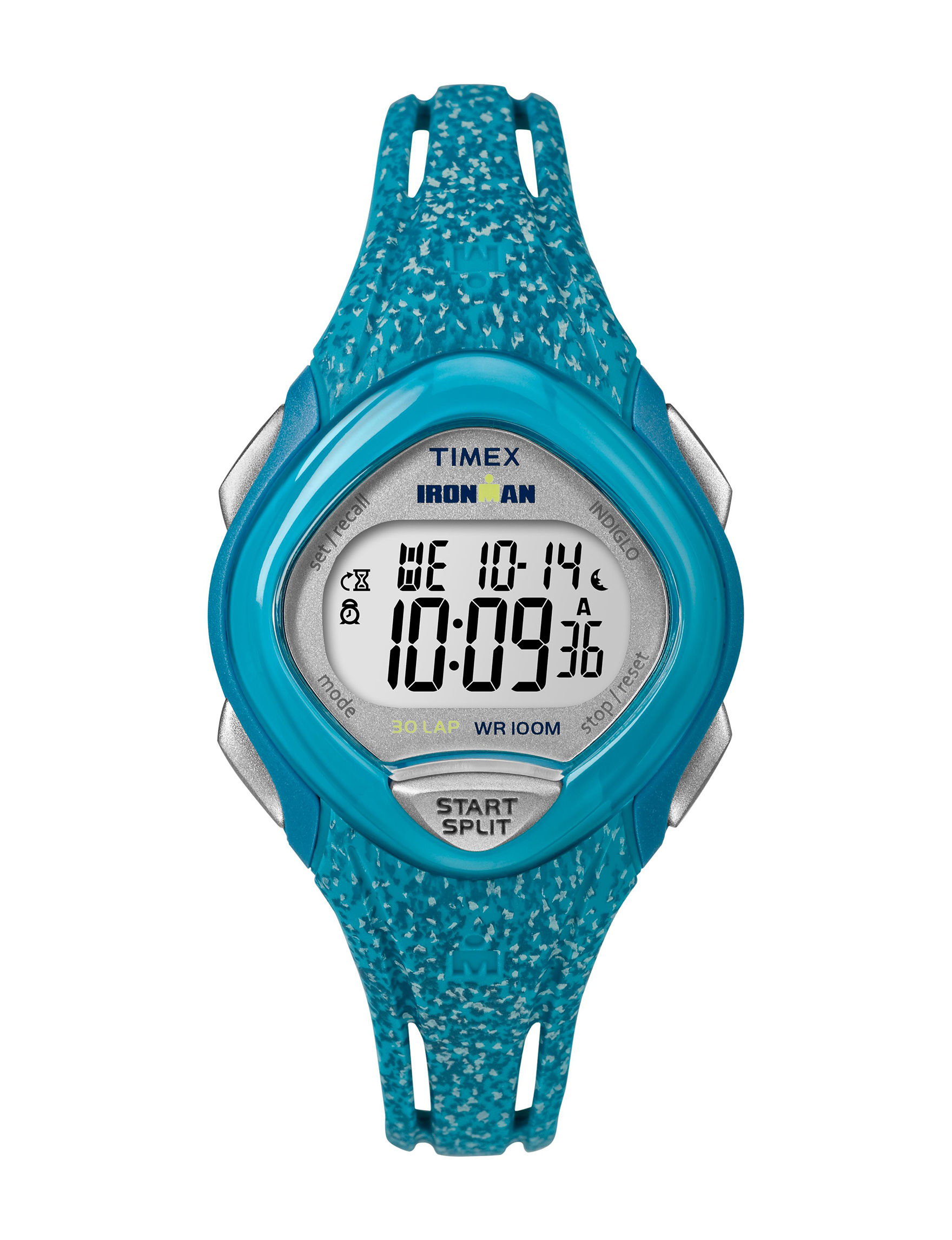 Timex Blue Sport Watches Fitness Tech & Tracking