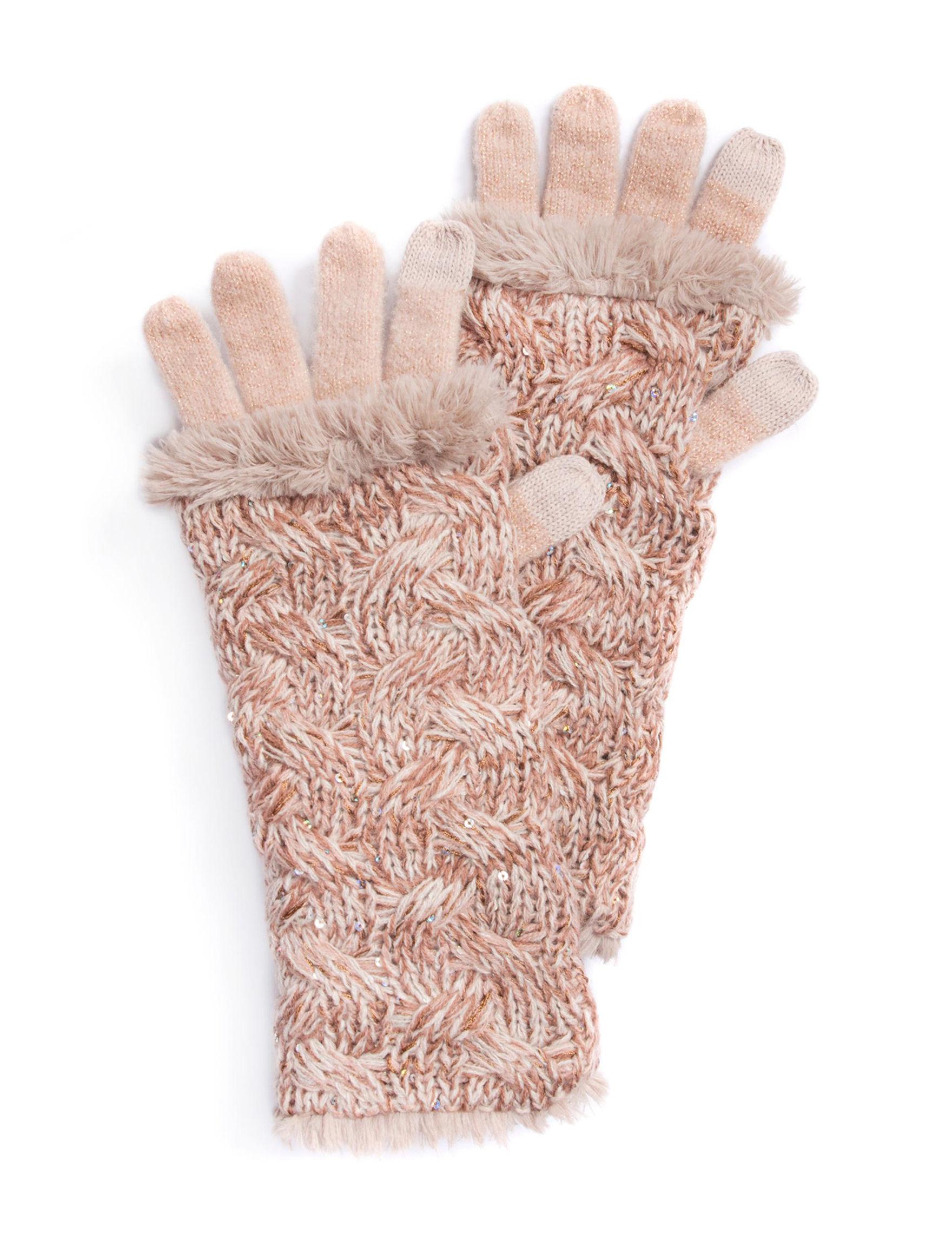 Muk Luks Blush Gloves & Mittens