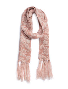 Muk Luks Rose Gold Scarves & Wraps