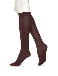 Hue Brown Socks