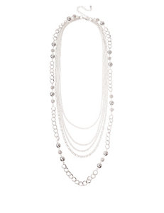 Hannah Classic Multi Row Swag Necklace