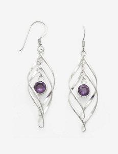 Marsala  Drops Earrings Fine Jewelry