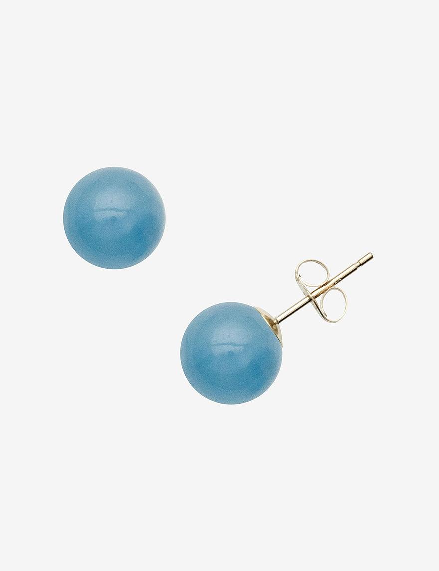 Marsala  Studs Earrings Fine Jewelry