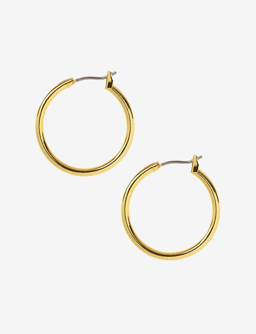 Anne Klein  Hoops Earrings Fashion Jewelry