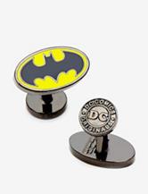 Cufflinks Enamel Oval Batman Logo Cufflinks