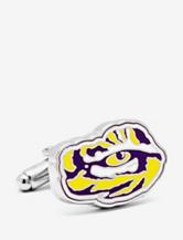 Cufflinks LSU Tiger's Eye Cufflinks