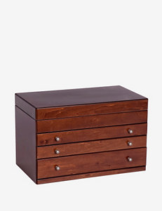 Mele & Co. Brigitte Wooden Jewelry Box