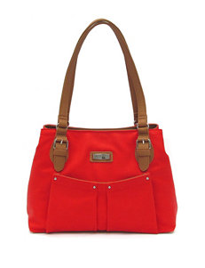 Koltov 2-Tone Tina Hunter Satchel Handbag