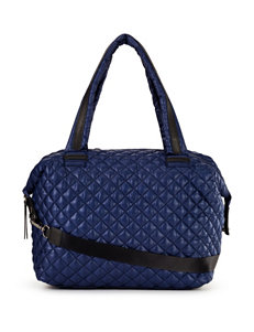 Steve Madden Solid Color Quilted Tote Bag