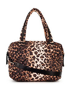 Steve Madden Leopard Quilted Tote Bag