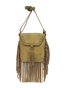 Jessica Simpson Delilah Fringed Crossbody Handbag