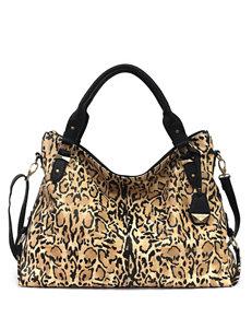 Jessica Simpson Mara Jaguar Crossbody Tote Handbag