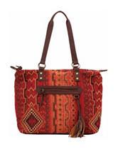 Izzy Stevie Aztec Print Tote Handbag