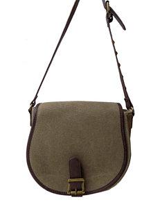 Olivia Miller Studded Crossbody Saddle Handbag