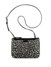 Nine West Glitter Leopard Crossbody Handbag