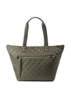 Olivia + Joy Zsa Zsa Nylon Quilted Tote Handbag