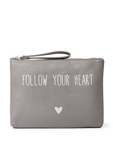 Dolce Girl Follow Your Heart Wristlet Pouch