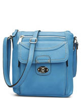 B.O.C. Waltham Light Blue Tulip Crossbody Handbag