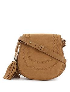 Kensie Love Fringe Flap Crossbody Handbag